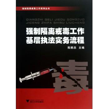 强制隔离戒毒工作基层执法实务流程/强制隔离戒毒工作系列丛书