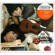 CD+DVD Robynn&Kendy2013强势全新广东专辑Dear Diary(3碟装)