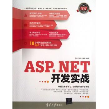ASP.NET开发实战(附光盘)/软件开发实战