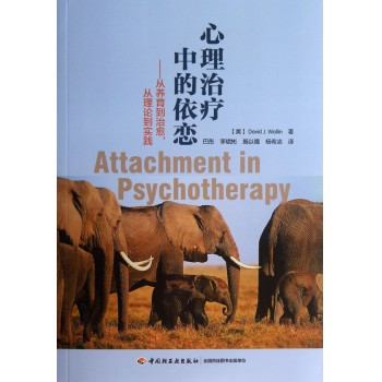 心理治疗中的依恋--从养育到治愈从理论到实践
