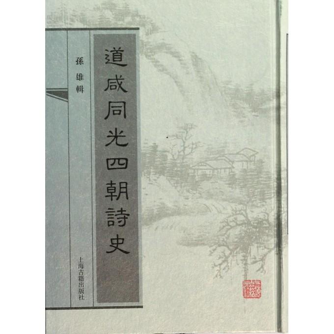 道咸同光四朝诗史(精)