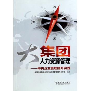 大集团人力资源管理--中央企业管理提升实践