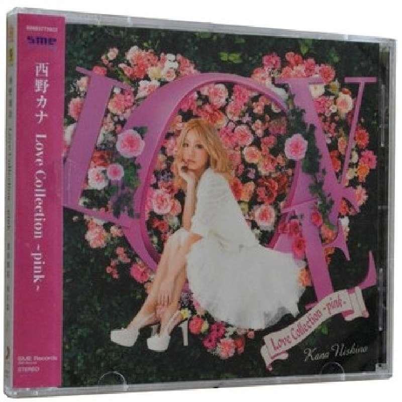 CD西野加奈爱的精选<粉红篇>(新索)