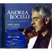 CD+DVD安德烈·波切利爱在波托菲诺(2碟装)