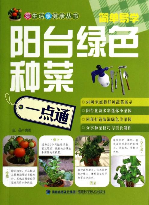 阳台绿色种菜一点通/爱生活享健康丛书