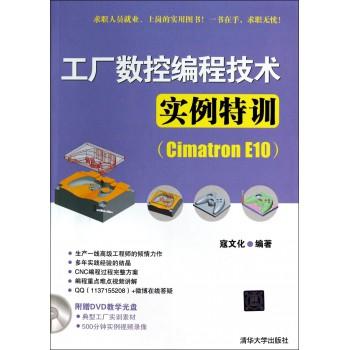 工厂数控编程技术实例特训(附光盘Cimatron E10)
