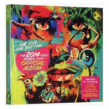 CD2014世界杯唯一官方指定专辑