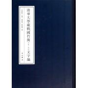 清华大学藏战国竹简(1-3文字编)(精)