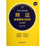 最新中华人民共和国刑法配套解读与实例(含法律解释)/最新中华人民共和国法律配套解读与实例系列