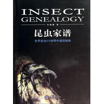昆虫家谱(世界昆虫410科野外鉴别指南)(精)
