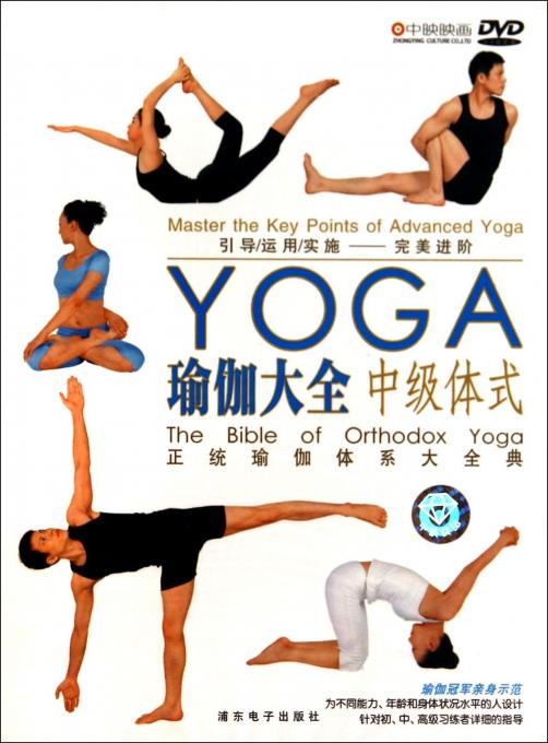 DVD瑜伽大全(中级体式)