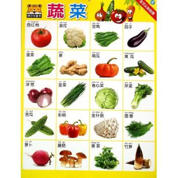 宝贝认知挂图(4蔬菜)