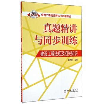 建设工程法规及相关知识(2015真题精讲与同步训练)/全国二级建造师执业资格考试