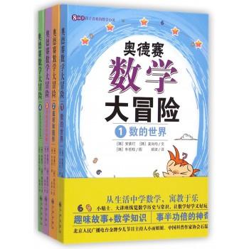 奥德赛数学大冒险(8-14岁孩子喜欢的数学小说共4册)