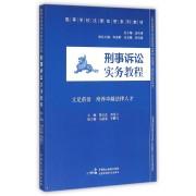 刑事诉讼实务教程(高等学校法律实务系列教材)