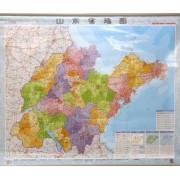 山东省地图(1:750000)