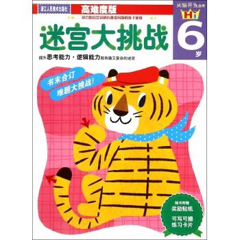 迷宫大挑战(6岁高难度版)/头脑开发丛书