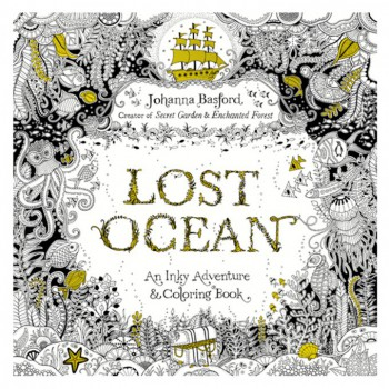 LOST OCEAN(AN INKY ADVENTURE & COLOURING BOOK)