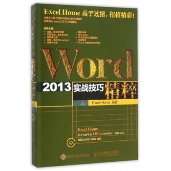 Word2013实战技巧精粹(附光盘)
