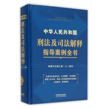 中华人民共和国刑法及司法解释指导案例全书(精)