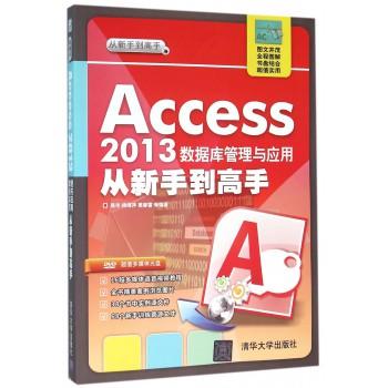 Access2013数据库管理与应用从新手到高手(附光盘)