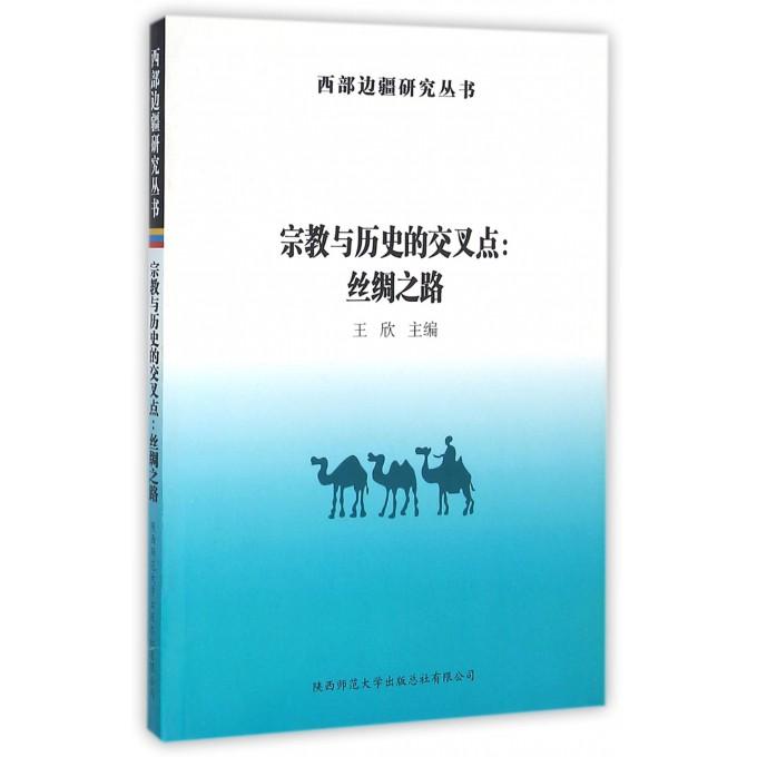 宗教与历史的交叉点--丝绸之路/西部边疆研究丛书
