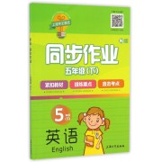 英语同步作业(5下N版)