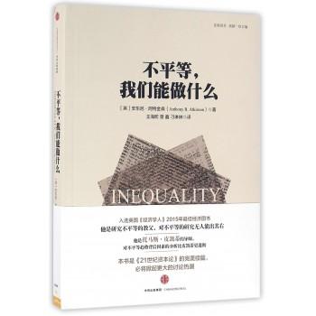 不平等我们能做什么/比较译丛