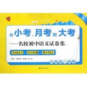 从小考月考到大考--名校初中语文试卷集(9年级+中考)