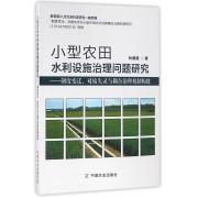 小型农田水利设施治理问题研究--制度变迁对接失灵与耦合治理机制构建
