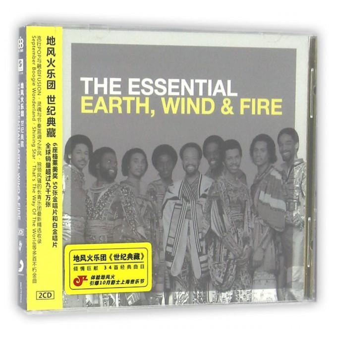 CD地风火乐团世纪典藏<新索>(2碟装)