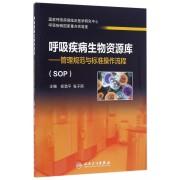 呼吸疾病生物资源库--管理规范与标准操作流程(SOP)