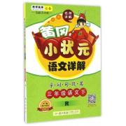 三年级语文(下R)/黄冈小状元语文详解字词句段篇