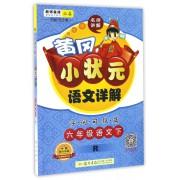 六年级语文(下R)/黄冈小状元语文详解字词句段篇