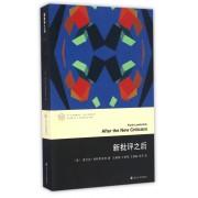 新批评之后/当代文学理论系列/当代学术棱镜译丛