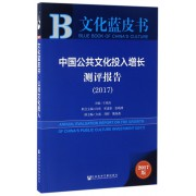 中国公共文化投入增长测评报告(2017)/文化蓝皮书