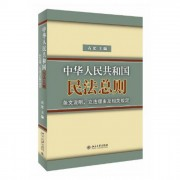 中华人民共和国民法总则条文说明立法理由及相关规定