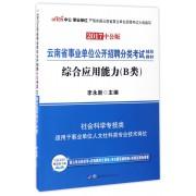 综合应用能力(B类2017中公版云南省事业单位公开招聘分类考试辅导教材)