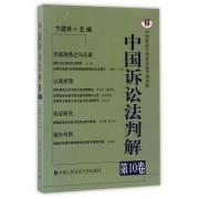 中国诉讼法判解(第10卷)