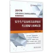安全生产法及相关法律知识考点精编与预测试卷(2017年全国注册安全工程师执业资格考试配套辅导用书)