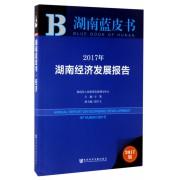 2017年湖南经济发展报告(2017版)/湖南蓝皮书