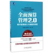 全面预算管理2.0(解开管理者8大难题的钥匙)