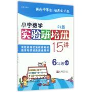 小学数学实验班培优15讲(6上RJ版)