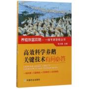 高效科学养鹅关键技术有问必答/养殖致富攻略一线专家答疑丛书
